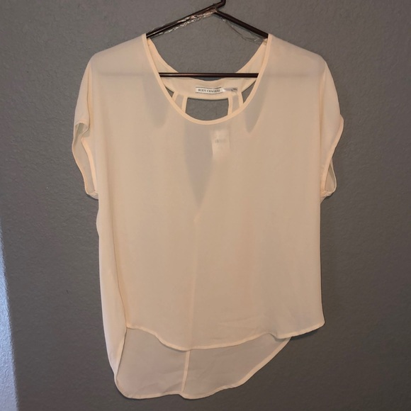 Body Central Tops - White Blouse